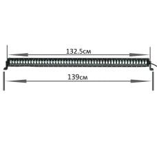 LLB 400W 9D Дальний свет(светит полосой)(139см)
