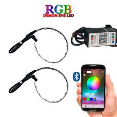RGB LED лента для линз Bluetooth