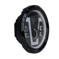 Светодиодный фары LED 7 дюймов V-образные