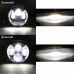 Универсальные Bi LED Фары 7 дюймов с Ангельскими глазками 60W