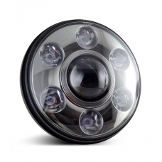 Универсальные Bi LED Фары 7 дюймов 90W с линзой