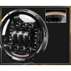 Универсальные Bi LED Фары 7 дюймов с ДХО и сигналами поворота