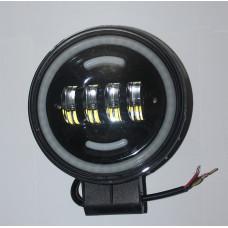 Универсальные LED противотуманные фары с ДХО 6 дюймов
