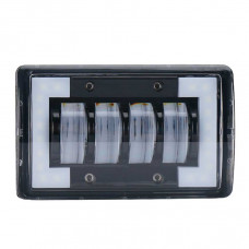 Универсальные LED противотуманные фары с ДХО