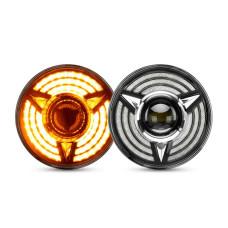 Универсальные Bi-LED фары BENS 7 дюймов MUST HAVE 50W для, Нива ,Волга, УАЗ, Камаз, Хаммер, Тойота, Джип